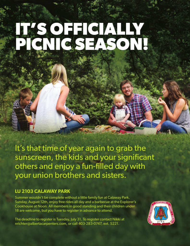 It's Officially Picnic Season